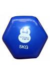Vinyl 5 kg håndvægt fra KettlebellShop™