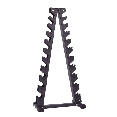 Tidløs pyramideformet håndvægtsstativ fra KettlebellShop™
