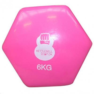 Vinyl 6 kg håndvægt fra KettlebellShop™