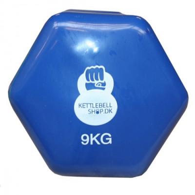 Vinyl 9 kg håndvægt fra KettlebellShop™